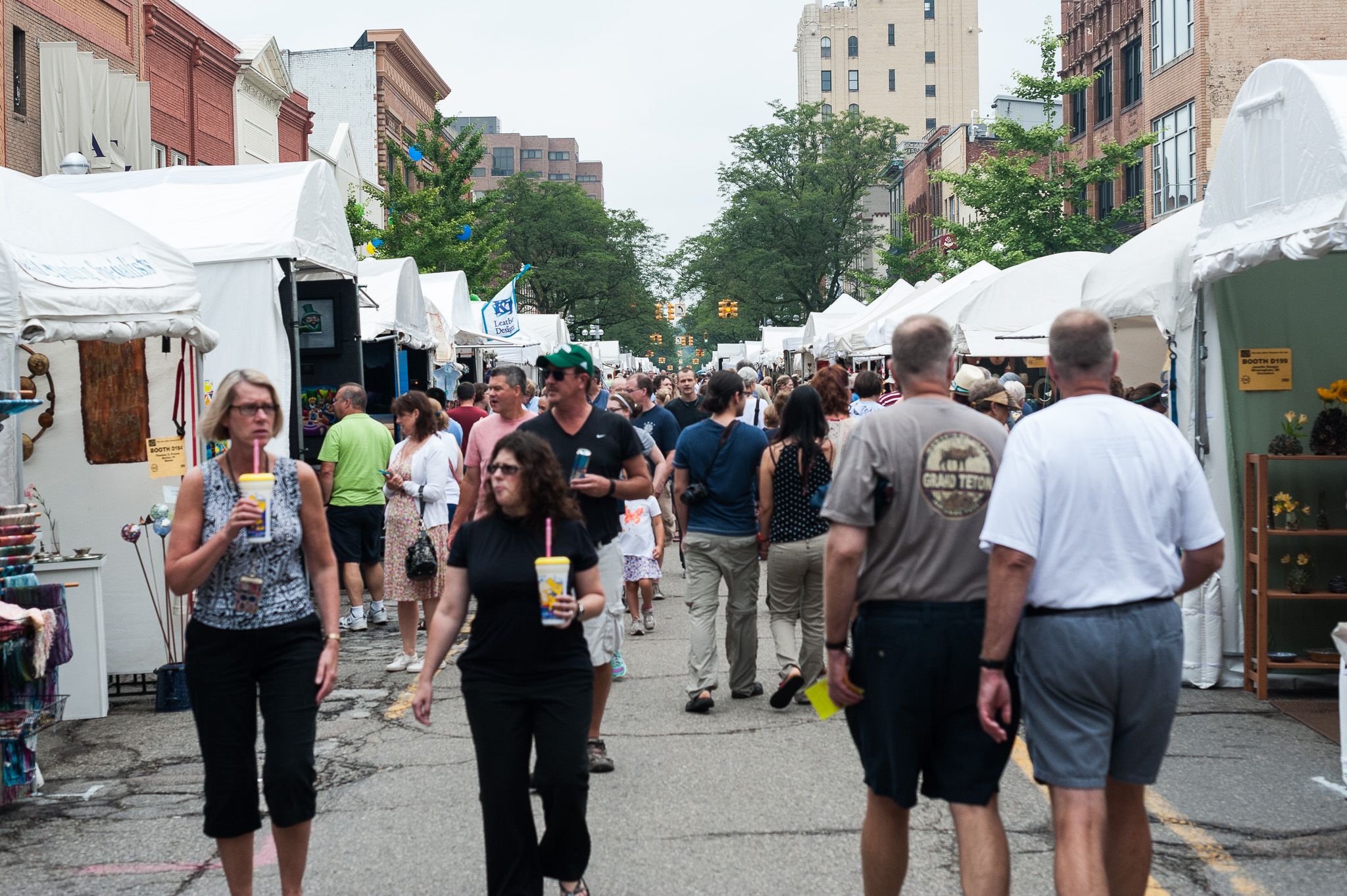 The Ann Arbor Art Fair